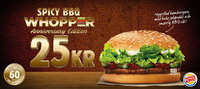 Spicy bbq whopper