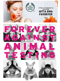 Forever against animal testing!