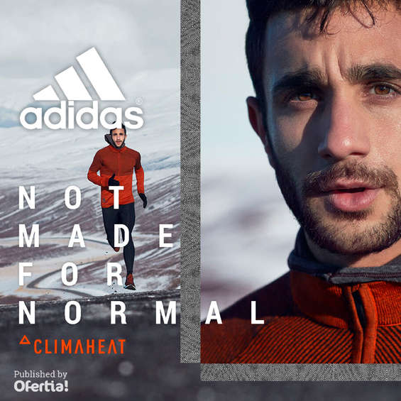 Erbjudanden från Adidas, Not made for normal